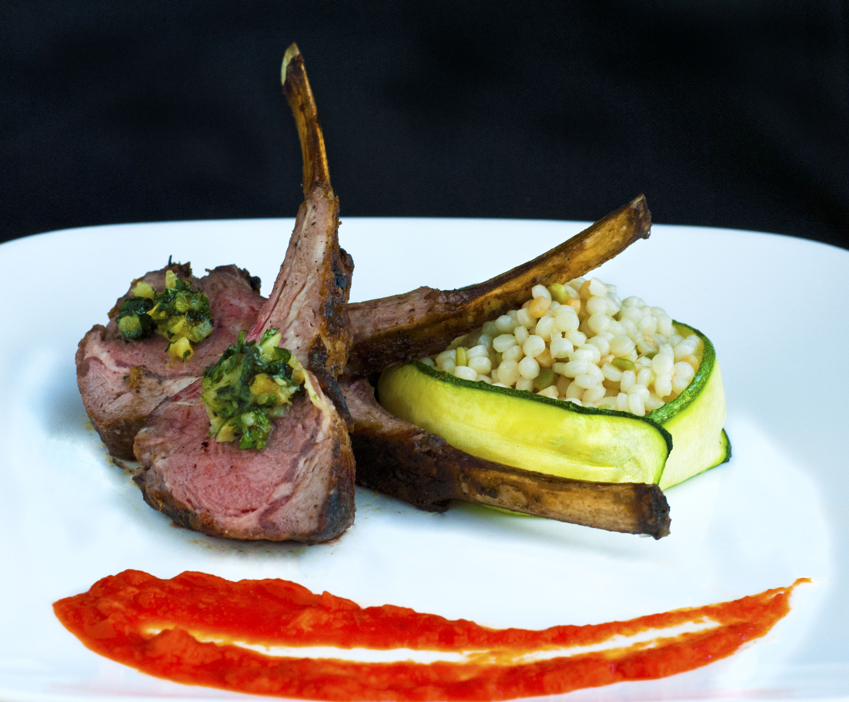 mint gremolata lamb chops with mint gremolata lamb chops grilled